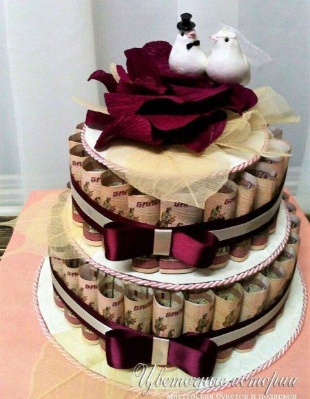 Торты на свадьбу подарок