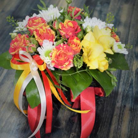 Цветочные композиции и корзины